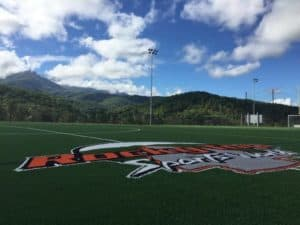 A field at Rocky Top Sports World.